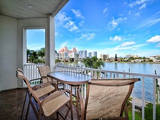 Harborside Townhomes Suite 1 Waterside Townhome in Clearwater Beach.