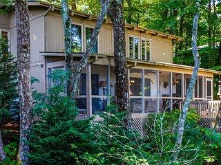 Brevard Retreat Home w/Amazing Long Range View, Golf, Trails, Lakes, Pool, Falls