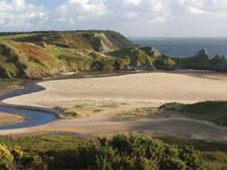 Gower holiday chalet close to award winning beaches,Indoor pool,sauna,spa & more