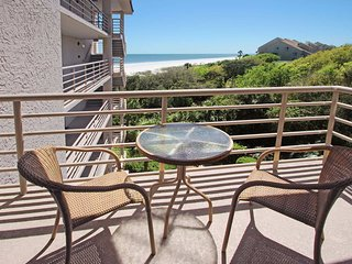Beachside condo with indoor/outdoor pools, hot tub, and oceanfront views!