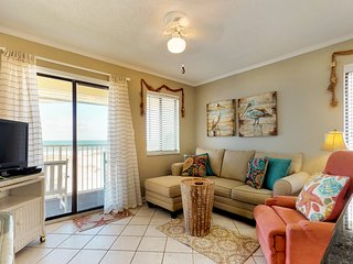 NEW! Beachfront getaway w/fitness room, shared pool, hot tub at Plantation East