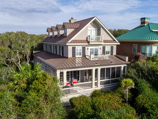 NEW LISTING! Sprawling oceanfront home on the beach