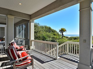 NEW LISTING! Sprawling oceanfront home on the beach w/shared tennis