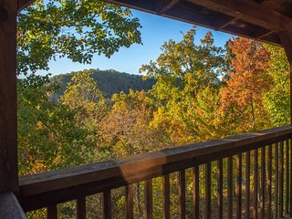 NEW LISTING! Dog-friendly mountainside cabin w/hot tub, fireplace & pool table