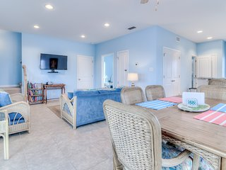 NEW LISTING! Spectacular Gulf-front home w/covered porch & views - on the beach