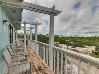 NEW LISTING! Spacious condo w/private balcony & shared pool-beach across street