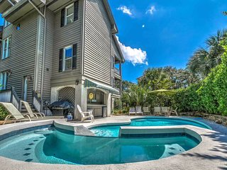 Spacious home moments from the beach with private pool, spa, and more!