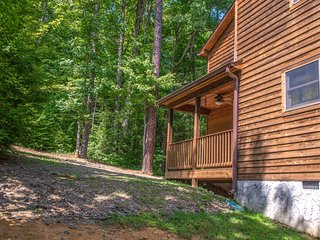 Woodsy cabin near Smokys - golf, shared pool & fitness center