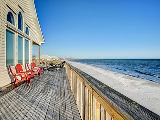 NEW LISTING! Dog-friendly home features incredible views w/beach access