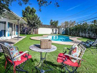 NEW LISTING! Main home & guest house, pool,  Encanto-Palmcroft neighborhood