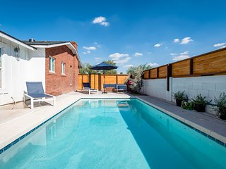 NEW LISTING! Remodeled home w/private pool & fireplace - near Downtown Phoenix