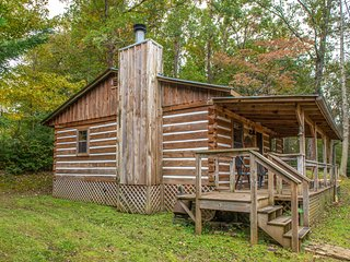 NEW LISTING! Updated log cabin w/ porch & fireplace - near the national park!