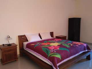 double room (one king bed with terrace)