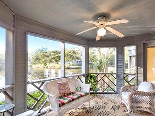 NEW LISTING! Family-friendly retreat w/water views-near tennis & golf, dogs ok