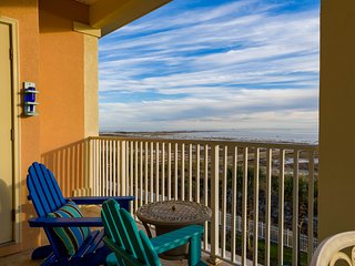 Gulf front condos w/ views, shared pools, & beach access