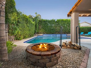 Dog-friendly and newly remodeled home with a private heated pool and great locat