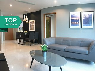 A Bright & Airy 2BR Suite, 10-min Walk to KLCC