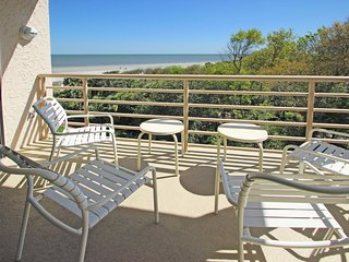 Enjoy a tranquil stay at this condo with pools, hot tub, & oceanfront views!