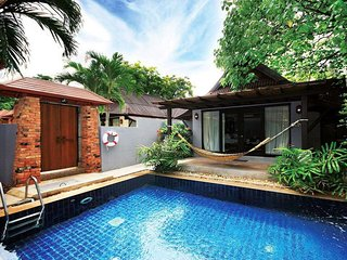 Stunning two bedroom private pool villa