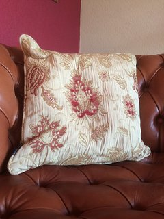 Matching cushions, curtains and throws