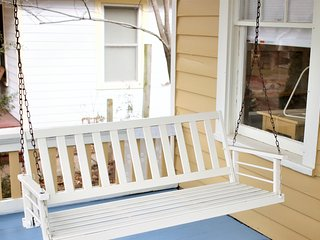 Pristine Old West Lawrence Bungalow 2+ bedrooms, Sunroom, Front Porch, Back Deck