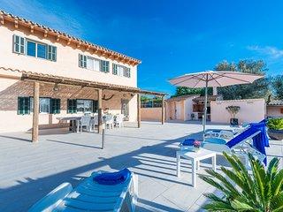 Villa Bumbambo con piscina para vacaciones de relax cerca de Manacor, Mallorca