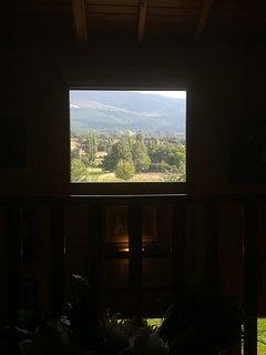 vistas desde dormitorio
