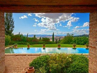 Villa Apparita Val d'Orcia