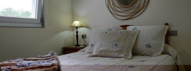 habitacion doble cama 150 cm.