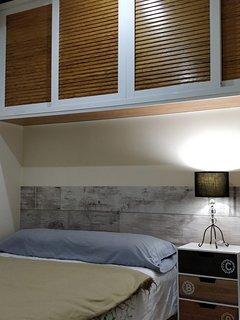 habitacion doble con cama 135 cm