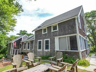 #113: Beach house with sweeping views of Cape Cod Bay and deeded beach access!