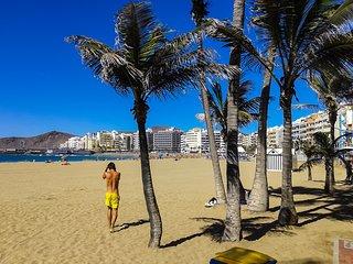 Apartamento en playa de las Canteras