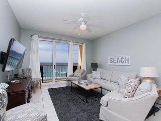 Calypso Beach Resort 802W   Walk to Pier Park   Beachfront Condo