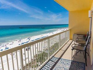 Calypso Beach Resort Rental 705E   Walk to Pier Park   Beachfront Condo
