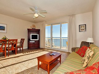 Calypso Beach Resort Condo Rental 1407W | Walk to Pier Park | Beachfront Condo