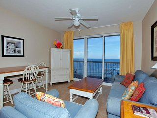 Calypso Beach Resort 1805W | Walk to Pier Park | Beachfront Condo | Garden Tub!