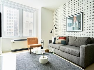 Simple 1BR at Wall Street Floor #4 by Sonder