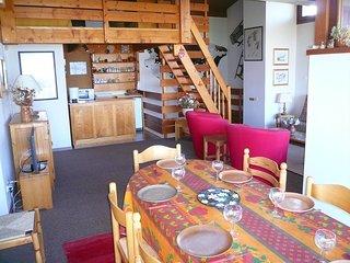 Appartement spacieux et cosy 7p, avec vue sur la vallée