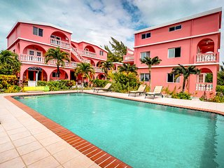 Spacious, oceanfront condo with a shared pool - just steps from the beach!