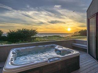 Gorgeous oceanfront home w/ hot tub, decks & shared pools/saunas - 1 dog OK!