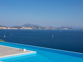 Villa Massalia - Infinity Lap Pool with Majestic Seaview