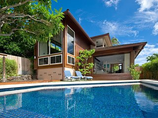 Ocean view, Private home, Open-air, Pool, Diamond Head, Luxury, Casa de Makalei