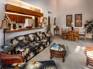 Embrace The Space! Kitchen, Lanai, AC, WiFi, Flat Screens+DVD–Kanaloa at Kona