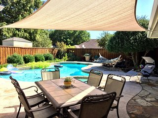Gorgeous Plano Home ~ Private Backyard Pool Oasis