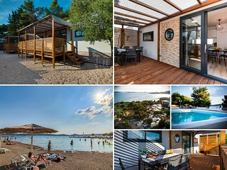 Croatia Camp Mobile Homes -modern, comfortable, fully equipped, sleeps 7