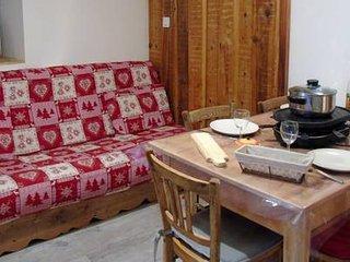 Appt** 2 Chambres-6pers- ski les 3 Vallées - WIFI, draps, serviettes inclus