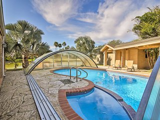 NEW! Waterfront Harlingen Home w/Pool,Spa & Gazebo