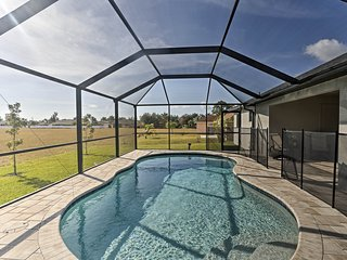 NEW! Cape Coral House w/Pool - 14 Mins to Beach!