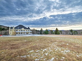 'Windham Manor' on 45 Acres - 5 Mi. to Ski Resort!