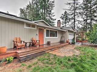 NEW! Peaceful Sebastopol Home w/ Pool & Hot Tub!